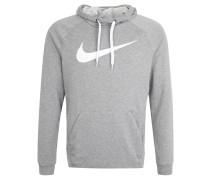 Sweatshirt, schnelltrocknend, Kapuze, Print, für Herren, Grau