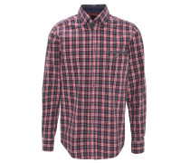 Freizeithemd, Casual Fit, Button-Down-Kragen, kariert