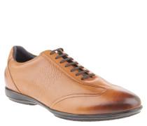 "Business Sneaker ""Vido New Raimon"", Logo-Prägung, Leder, Braun"