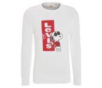 Sweatshirt, Logo-Print, Snoopy-Motiv