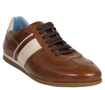 "Sneaker ""Hernas"", Leder, zweifarbig, Braun"