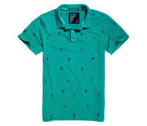 Poloshirt, Baumwolle, Allover-Muster