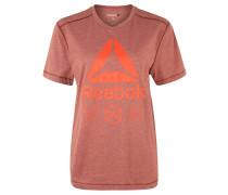 """Trainingsshirt """"Logo Graphic"""", baumwollähnlich, für Herren, Lila"""