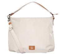"""Handtasche """"Elba"""", unifarben, Nylondesign, Schultergurt, Beige"""