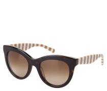 """Sonnenbrille """"TH 1480/S"""", Verlaufsgläser, gestreifte Bügel"""