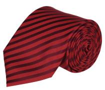 Krawatte, reine Seide, handgefertigt, Streifen-Optik