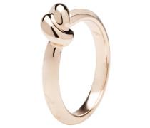 Damenring, Knoten, Bronze, rosevergoldet, WSBZ00607.R