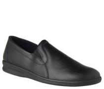 """Pantoffeln """"Präsident"""", Slipper-Stil, Leder"""