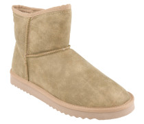 Boots, Warmfutter, leicht, Taupe