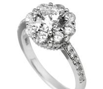 Ring, Sterling Silber 925, -Zirkonia, zus. 2,72 ct