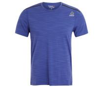 T-Shirt, kühlend, schnelltrockend, Logo, für Herren, Blau