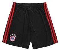 FC Bayern München Shorts Home, 2017/18, für Kinder, Schwarz
