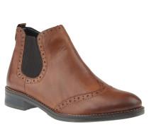 Chelsea Boots, Warmfutter, Wechselfußbett, Braun