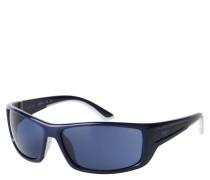 """Sportsonnenbrille """"ET19612"""", eckige Form, blaue Gläser"""