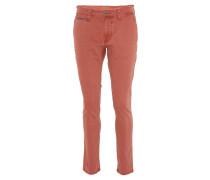 """Hose """"Madison"""", Modern Fit, einfarbiges Design, Rot"""