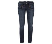 "Jeans ""Pitch"", Five-Pocket, Straight Leg, Blau"