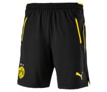 Shorts, BVB-Emblem, Regular Fit, Schwarz