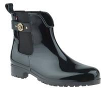 """Chelsea Boots """"O1285XLEY 13R"""", Glanz-Sohle, Logo-Emblem, Schwarz"""