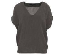 T-Shirt, überschnittene Schulter, strukturiert