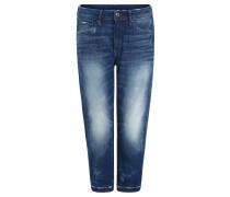 """Jeans """"3301"""", Boyfriend-Fit, 7/8-Länge, Used-Optik, Blau"""