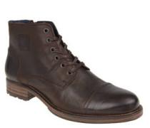 Stiefel, Kalbsleder, Reißverschluss, Profilsohle