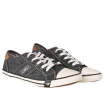 Sneaker, Gummi-Kappe, Fünf-Loch-Schnürung