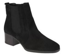 Chelsea-Boots, Leder, Blockabsatz