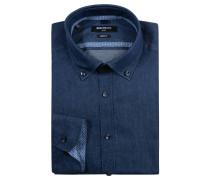 """Businesshemd """"Ben"""", Denim, Button-Down-Kragen, Blau"""