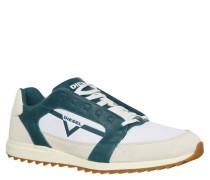 Sneaker, Materialmix, Profilsohle, Mehrfarbig