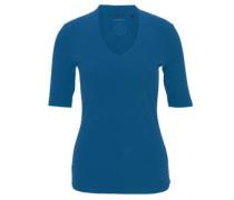 Shirt, halbarm, Jersey, V-Ausschnitt, Biobaumwolle