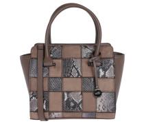 """Handtasche """"Amazonas"""", Emblem, Animal-Design, Braun"""