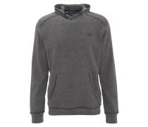 Sweatshirt, atmungsaktiv, Kapuze, Kängurutasche, für Herren, Grau