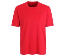 """T-Shirt """"Big Fritz III"""", UV-Schutz, für Herren, Rot"""