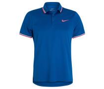 """Poloshirt """"Solid"""", schnelltrocknend, für Herren, Blau"""