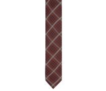 Krawatte, Seide, Karo-Muster