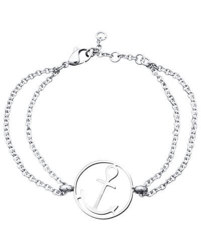 Anker Armband 108031 Edelstahl rund