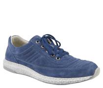 """Sneaker """"Lia"""", Veloursleder, Stein-Optik, Blau"""
