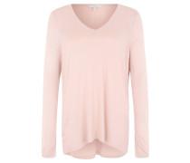 Pullover, Feinstrick, V-Ausschnitt, Rosa
