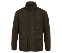 Outdoorjacke, Kapuze, Funktionen, Outdoor, für Herren, Oliv