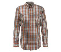 Hemd, kariert, Button-Down-Kragen, Baumwolle