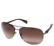 "Sonnenbrille ""SPS 56M"", Verlaufsgläser, Piloten-Design"