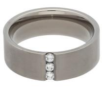 Titan Ring, Zirkonia-Steine, für Damen