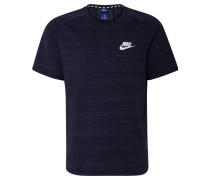 T-Shirt, atmungsaktiv, Mesh, Melange