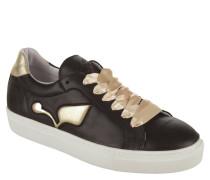 "Sneaker ""Frida"", Leder, Metallic-Patches"