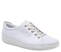 "Sneaker ""Soft 2.0"", Nubukleder, Schnürung, Profil-Sohle"