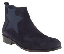 "Chelsea Boots ""P1285OLLY 11B"", Stern, Rauleder, Blau"