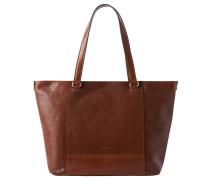 "Shopper ""Lugano"", Leder, Vintage-Stil"