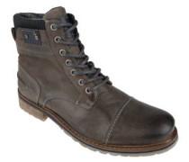 Stiefel, Leder, gepolsterter Einstieg