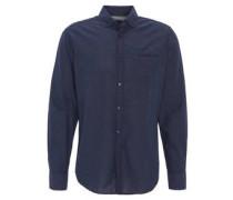 Hemd, gepunktet, Button-Down-Kragen