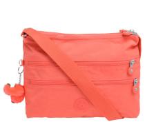 """Umhängetasche """"Alvar"""", Textil, Affen-Anhänger, Orange"""